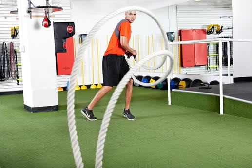Presentation format: Slide show 12 of the Most Challenging Battle Ropes Exercises